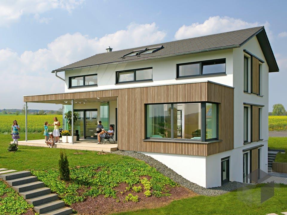 Haus Brettheim von Keitel-Haus Außenansicht