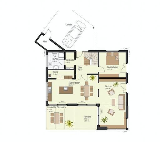 Keitel - Brettheim Floorplan 1