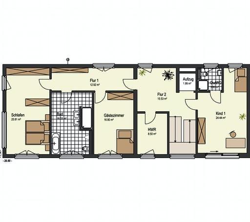Keitel - Kaiserstrasse Floorplan 2