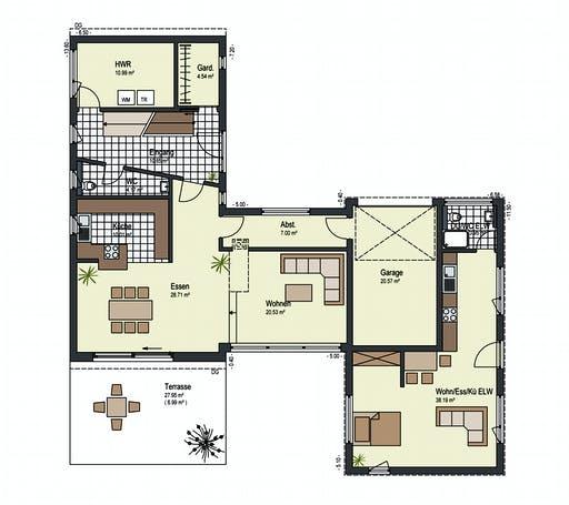 Keitel - Landhege Floorplan 1