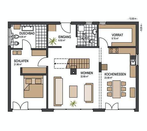 Keitel - Lengwil Floorplan 1