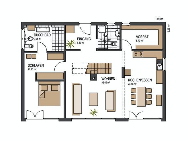 Haus Lengwil von Keitel-Haus Grundriss 1