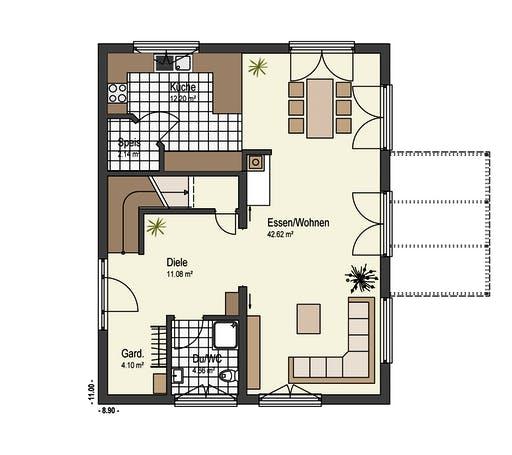 Keitel - Mühlwiesen Floorplan 1
