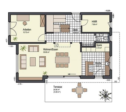 Keitel - Sonnenfeld Floorplan 1