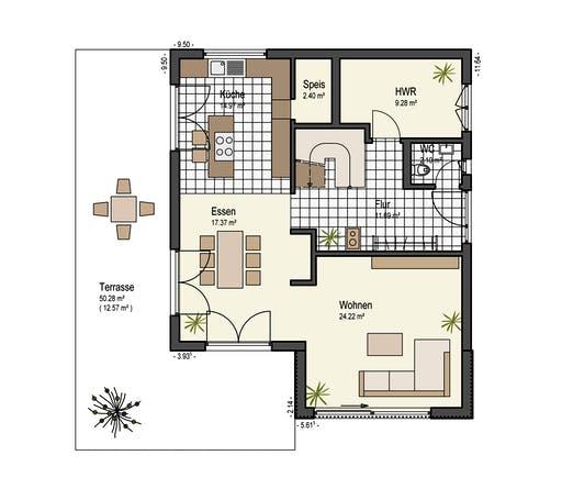 Keitel - Stadthaus 150 Floorplan 1