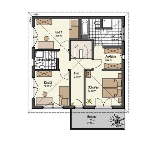 Keitel - Stadthaus 150 Floorplan 2
