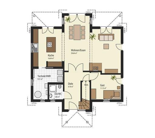 Keitel - Weingarten Floorplan 1