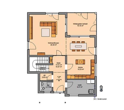 Kern - Akzent Floorplan 1