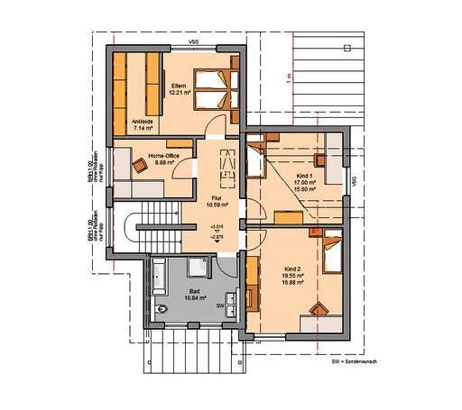 Kern - Akzent Floorplan 2