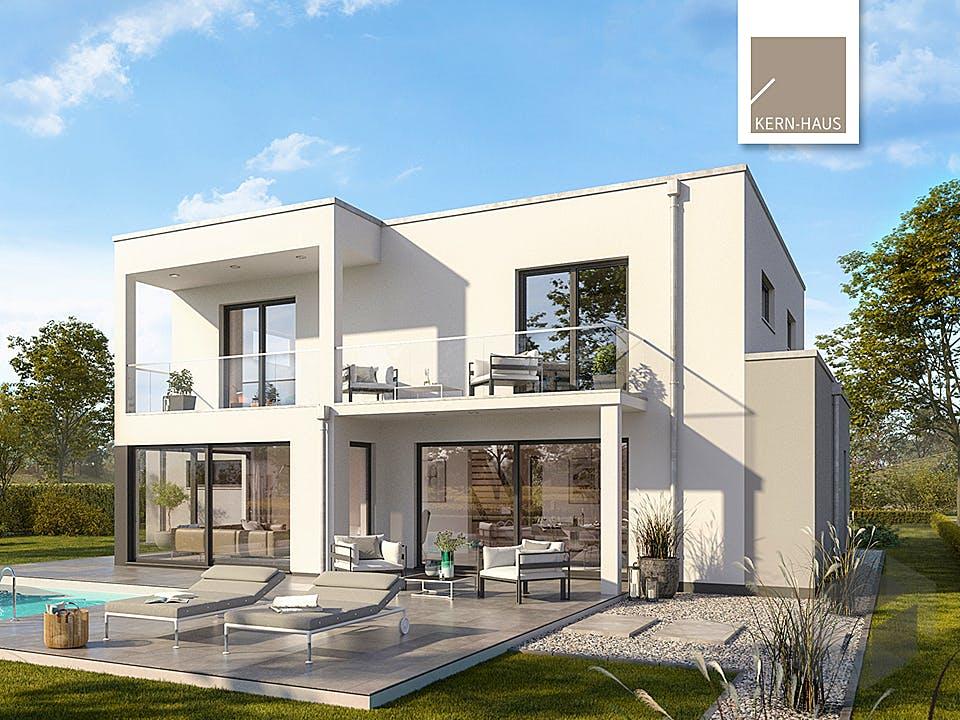 Bauhaus Anteo von Kern-Haus Außenansicht