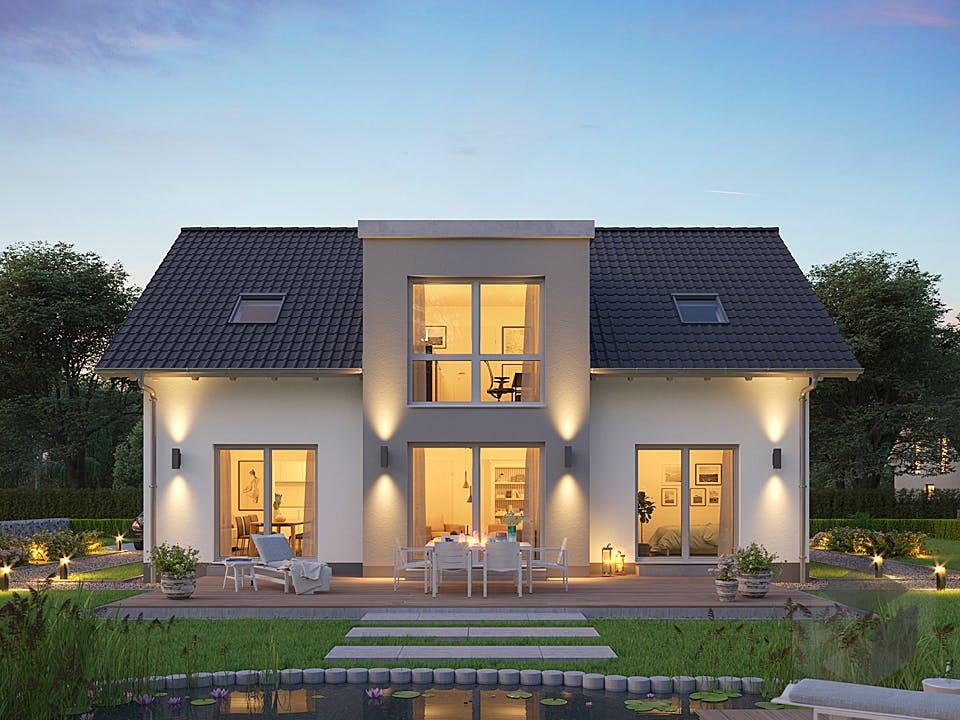 Architektenhaus Auro von Kern-Haus Außenansicht