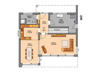 Architektenhaus Elea von Kern-Haus Grundriss 1