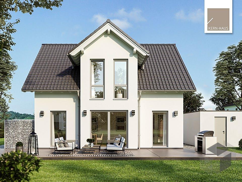 Architektenhaus Esprit von Kern-Haus Außenansicht