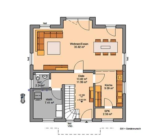 Kern - Esprit Floorplan 1