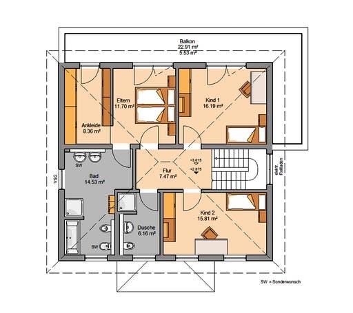 Kern - Gredo Floorplan 2