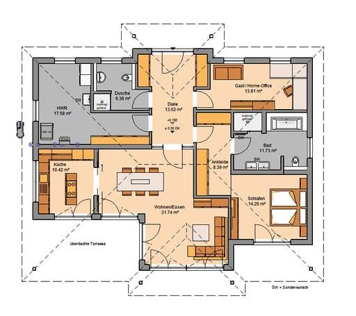 Kern - Kalea Floorplan 1