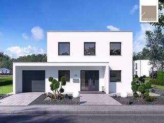 Bauhaus Puro von Kern-Haus Außenansicht 1