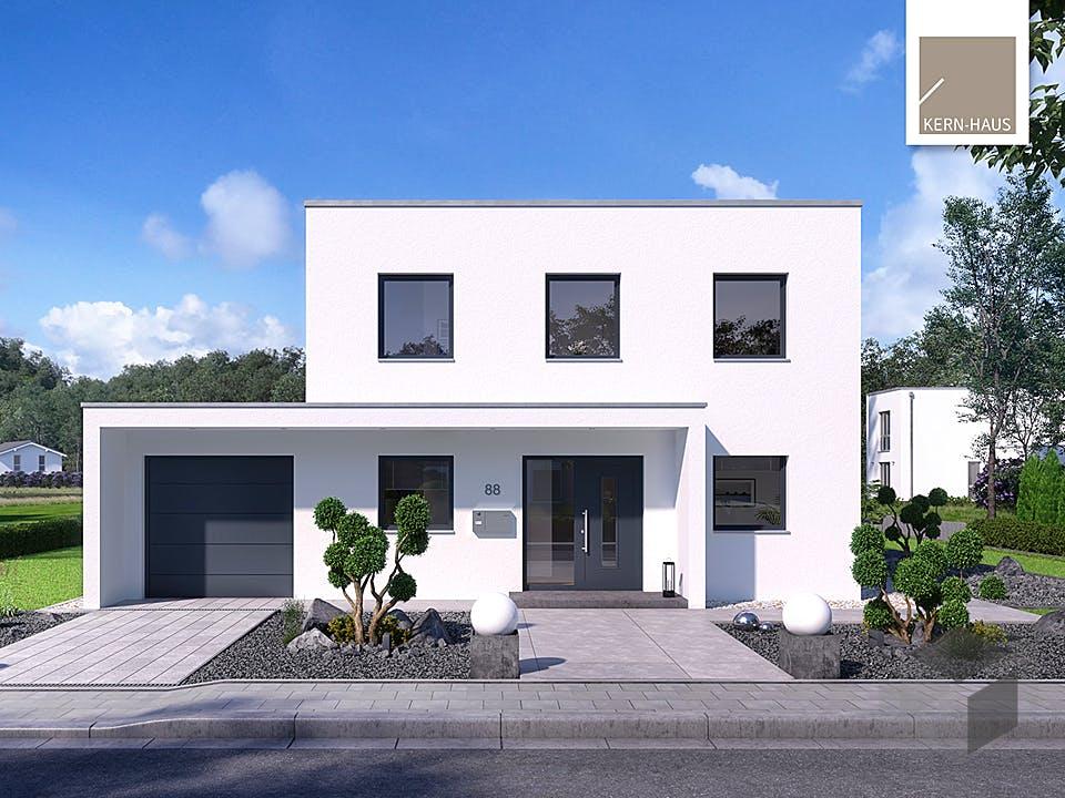 Bauhaus Puro von Kern-Haus Außenansicht