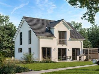 Architektenhaus Trend von Kern-Haus Außenansicht 1