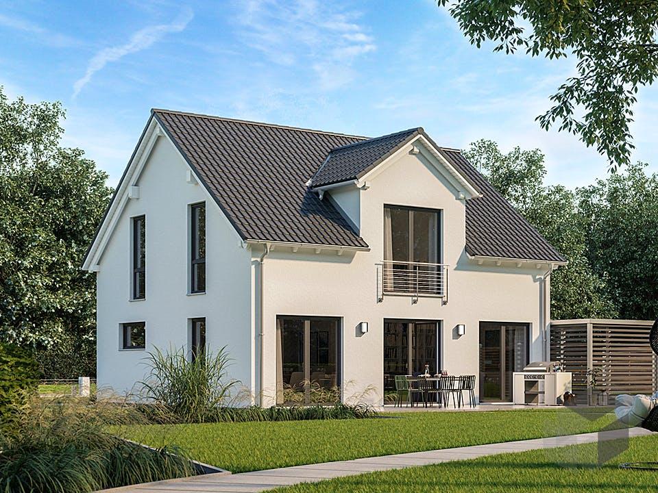 Architektenhaus Trend von Kern-Haus Außenansicht