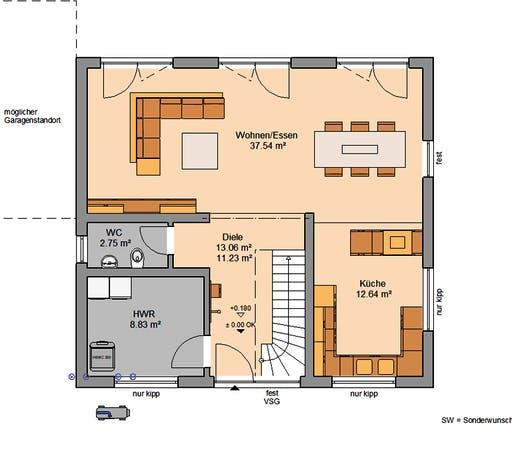 Kern - Trend Floorplan 1