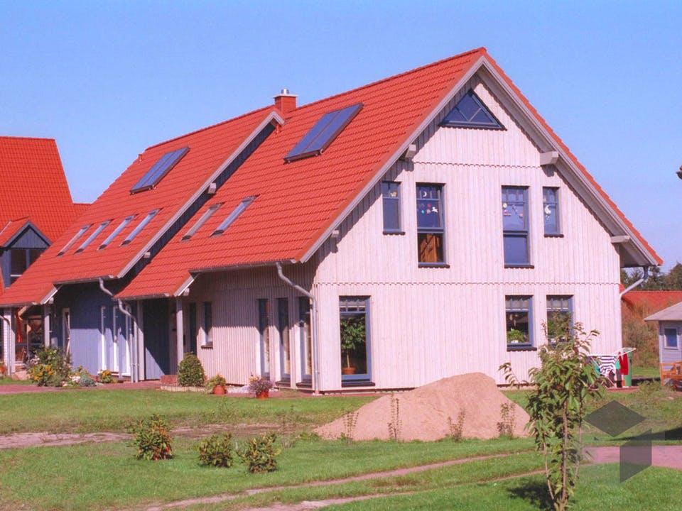 Kerstin 2 (KfW-Effizienzhaus 40) von Dammann-Haus Außenansicht