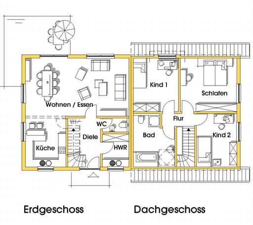 Kerstin 2 (KfW-Effizienzhaus 55) floor_plans 0