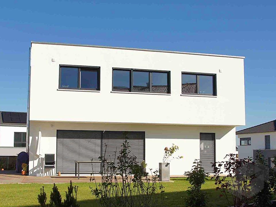 Bauhaus von Kielwein Holzbau Außenansicht
