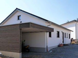 Bungalow 97 von Kielwein Holzbau Außenansicht 1