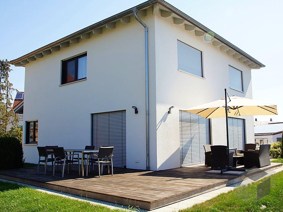 Stadtvilla 149 von Kielwein Holzbau Außenansicht
