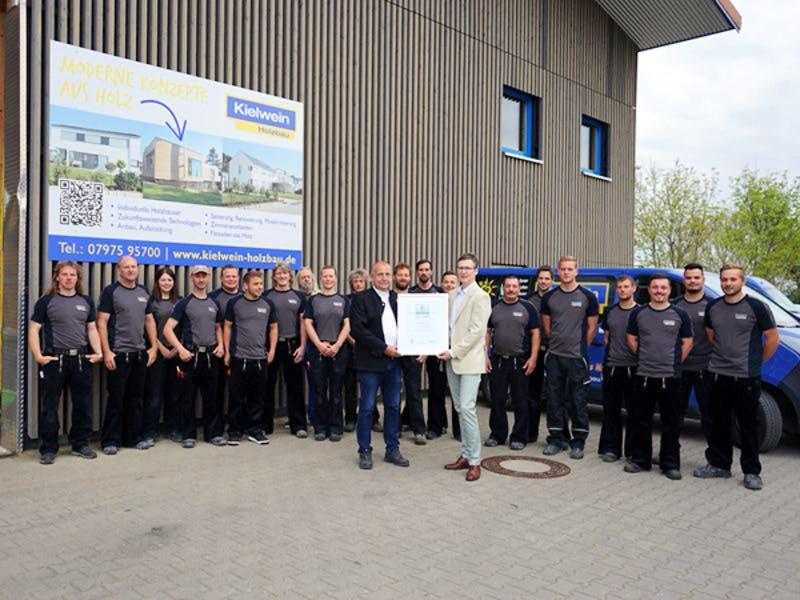 Das Team von Kielwein Holzbau