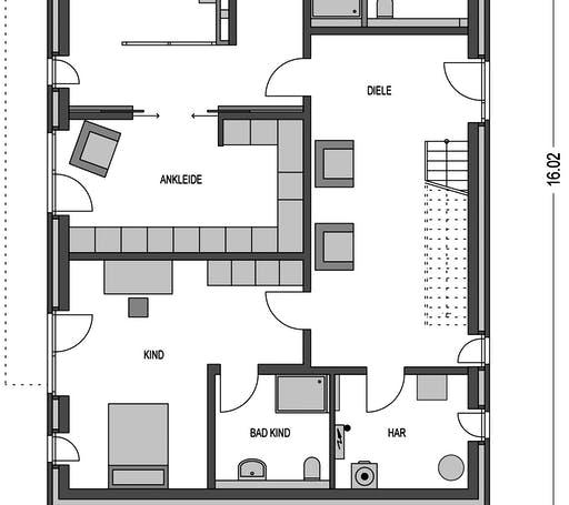 Klassik 5000.2 Floorplan 1