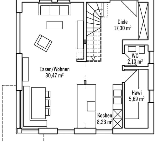 Klein & Fein 121 - Var. 1 floor_plans 0