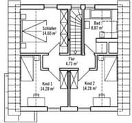 Klein & Fein 121 - Var. 1 Grundriss