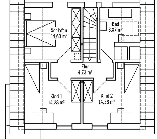 Klein & Fein 121 - Var. 2 floor_plans 1