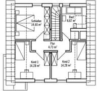 Klein & Fein 121 - Var. 3 Grundriss