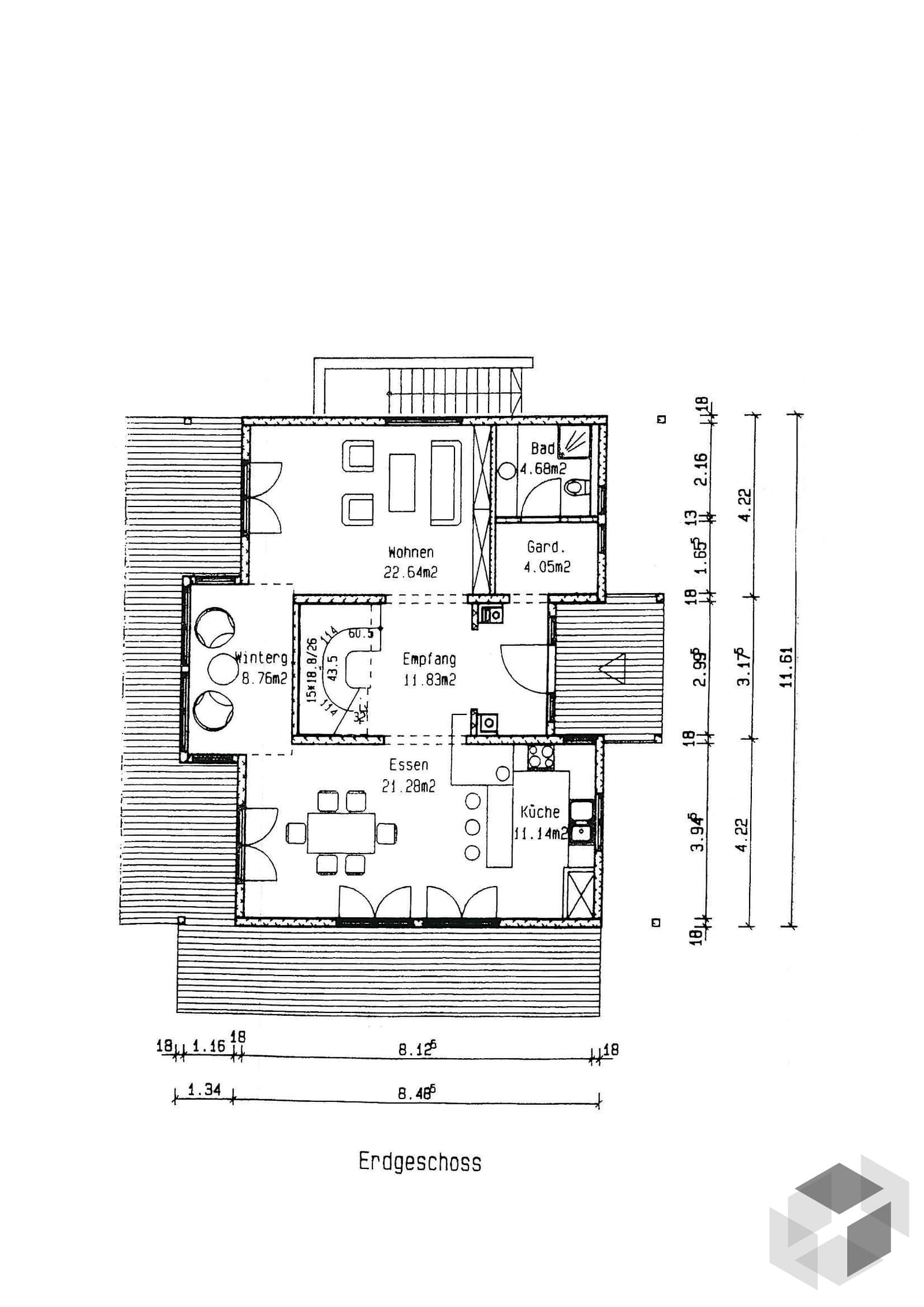 k nigsee inactive von isartaler holzhaus komplette. Black Bedroom Furniture Sets. Home Design Ideas