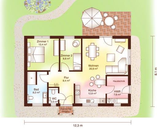 Korsör Floorplan 1