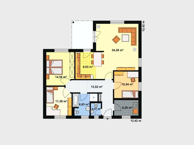 Kompakt 4 Plus 1 floor_plans 0