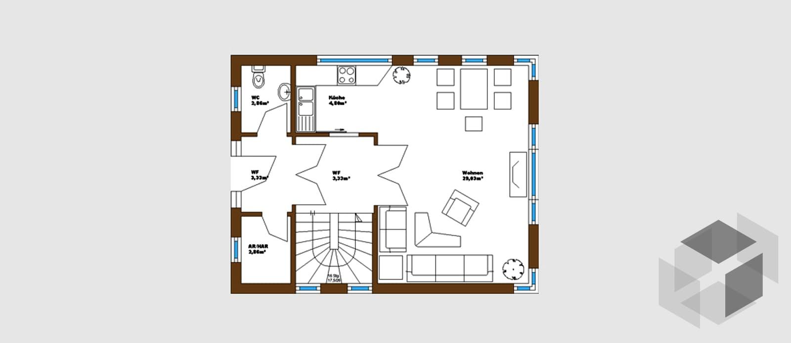 kompakt von wagener systemh user komplette. Black Bedroom Furniture Sets. Home Design Ideas
