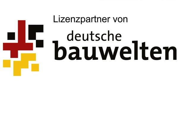 Logo Lizenzpartner von deutsche bauwelten
