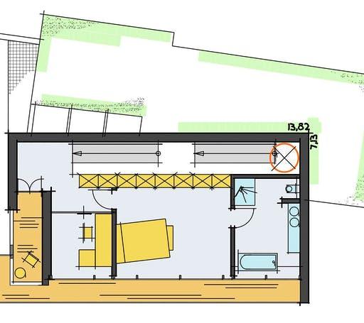 Korte - Baumann Floorplan 3