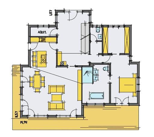 Korte - Breitinger Floorplan 1