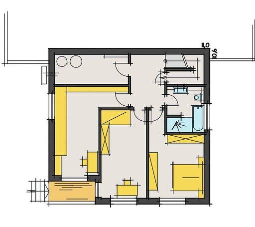 Korte - Dietrichs Floorplan 2