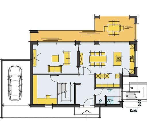 Korte - Füger Floorplan 1