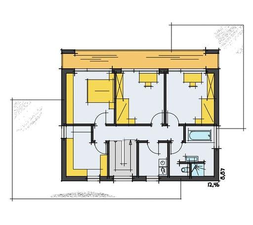Korte - Füger Floorplan 2