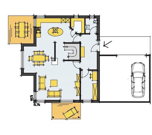 Korte - Mehnert Floorplan 1