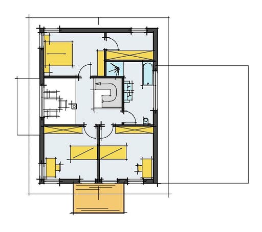 Korte - Mehnert Floorplan 2