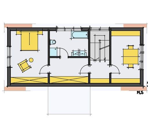 Korte - Schneider Floorplan 2