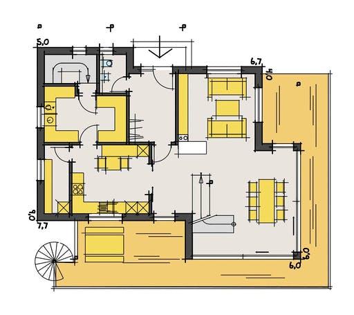 Korte - Scholz Floorplan 1